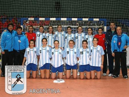 Seleção Argentina de Handebol Feminina (Campeãs Pan-Americano 2009)