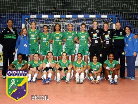 Seleção Brasileira de Handebol Feminina (2º Lugar Pan-Americano 2009)
