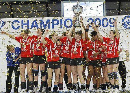 Em destaque a equipe espanhola do Itxako, que além de vencer a liga espanhola, faturou também a Copa da Europa (Copa EHF) neste ano.