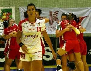 Hungria x Espanha pelo Europeu Junior 2009